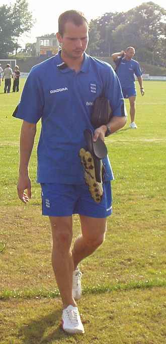Stephen Clemence - Pictured in 2004 pre-season