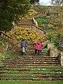Steps at Upton House - geograph.org.uk - 1565380.jpg