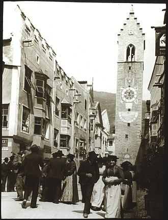Sterzing - Sterzing (Aug 1912) - Zwölferturm