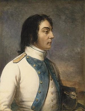 Louis Desaix - Desaix in the uniform of a captain of the 46th infantry regiment in 1792, by Charles de Steuben.