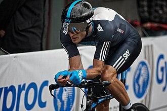Steve Cummings - Cummings at the 2010 Giro d'Italia
