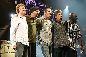 Steve Winwood - The Steve Winwood Band in 2009 on tour