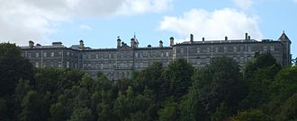 Palmerstown - The main building of Stewartscare and HSE from Mill Lane.