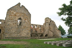 Ruins of the abbey church