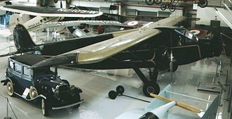 Stinson Aircraft Company - Stinson SM-6000B Airliner trimotor of 1931 airworthy at the Weeks Museum, Polk City, Florida in April 2007