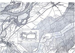 Bühl-Stollhofen Line - Image: Stollhofener Linien Nordteil