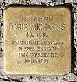 Stolperstein Albrechtstr 12 (Mitte) Doris Michaelis.jpg
