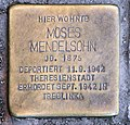 Stolperstein Bundesallee 180 (Wilmd) Moses Mendelsohn.jpg