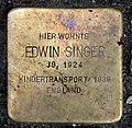 Stolperstein Choriner Str 81 (Mitte) Edwin Singer.jpg
