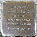 Stolperstein Düren Oberstraße 27 Moritz Falk.JPG