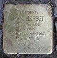 Stolperstein Emser Str 15 (Wilmd) Erna Herbst.jpg