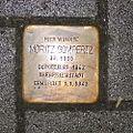 Stolperstein Geldern Issumer Straße 42 Moritz Gompertz.jpg