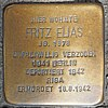 Stolperstein in Geldern Markt 7 für Fritz Elias