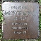 Stolperstein für Harry Grünbaum