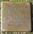 Stolperstein Lüdinghausen Mühlenstraße 12 Bertha Friede.jpg