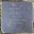 Stolperstein Max Mayer (Roßbrunnenstraße 15 Butzbach).jpg