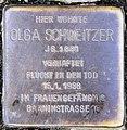 Stolperstein Paderborner Str 9 (Wilmd) Olga Schweitzer.jpg