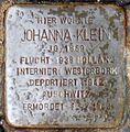 Stolperstein Salzburg, Johanna Klein (Markus-Sittikus-Straße 15).jpg