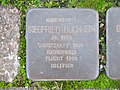 Stolperstein Siegfried Buchheim, 1, Bahnhofstraße 3, Bad Wildungen, Landkreis Waldeck-Frankenberg.jpg