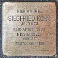 Stolperstein Siegfried Kohn by 2eight 3SC1430.jpg