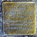 Stolperstein Weichselstr 28 (Neuk) Georg Weigert.jpg