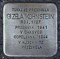 Stolperstein für Gizela Kohnstein.JPG