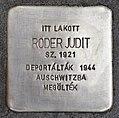 Stolperstein für Judit Roder (Pecs).jpg