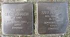 Stolpersteine für Sara und Simon Agranow