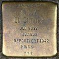 Stolpersteine Köln, Fanny Ollendorf (Waisenhausgasse 66).jpg