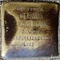 Stumbling block for Hermann Kaufmann (Alteburger Strasse 11)