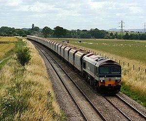 Mendip Rail - A Mendip Rail aggregate train