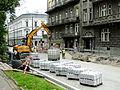 Straszewskiego - roadworks.JPG