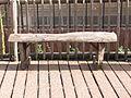 Street bench - Diergaarde Blijdorp - Rotterdam - Flat half logs - Round side up.jpg