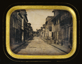 Street in Saint Pierre, Martinique, 1848, Getty Museum.png
