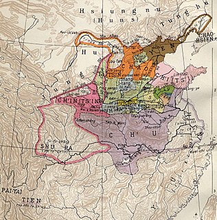 Era in ancient Chinese history