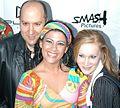 Stuart Wall, Gia Givanna, Katie Ray at Halloween Party 1.jpg