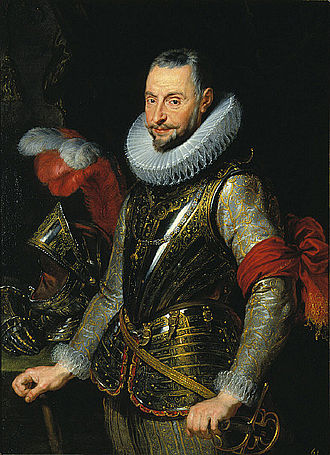 Ambrosio Spinola, one of Philip III's various imperial proconsuls, by Peter Paul Rubens. Studio of Peter Paul Rubens - Marquis Ambrogio Spinola.jpg