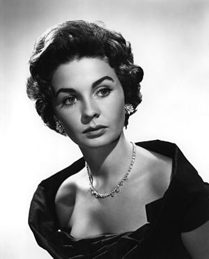 Jean Simmons - Jean Simmons in a 1955 studio publicity shot