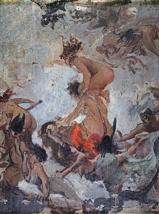 Study of Witches going to their Sabbath, by Luis Ricardo Falero