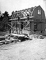 Stugvägen 15, husbygge i kv. Skåpet 6, Olovslunds småstugeområde, 1927.jpg