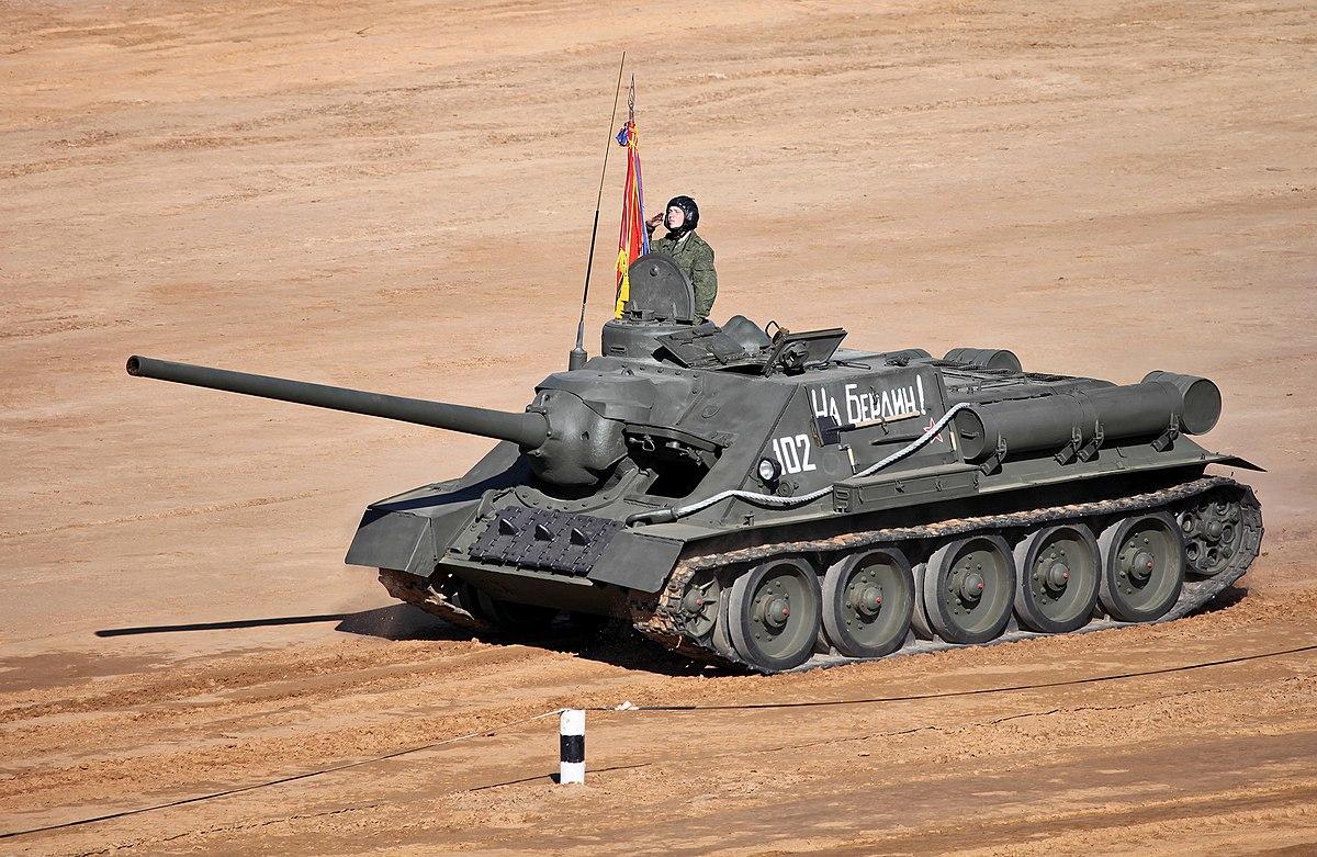 Soviet medium tank T-34-100: creation history, device, photo 38