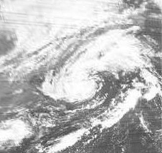1974 Atlantic hurricane season - Image: Subtropical Storm 3 (1974)