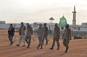Pakistan Armed Forces deployments - Pakistan Army providing security on behalf of the United Nations in Sudan.