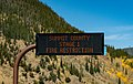 Summit County Stage 1 Fire Restriction - Digital Highway Signage, Colorado (44651642555).jpg