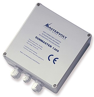 Solar micro-inverter - Released in 1993, Mastervolt's Sunmaster 130S was the first true microinverter.