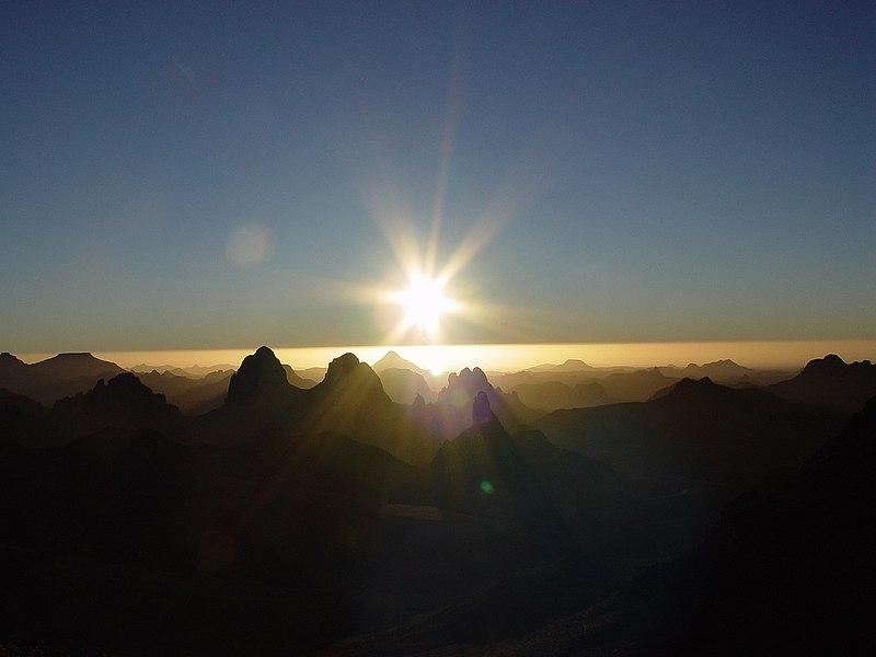 Sunrise Asskrem