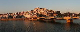 Coimbra Municipality in Centro, Portugal
