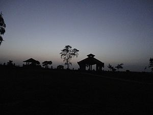 Jawhar - A twilight view of the Sunset point, Jawhar at the dusk