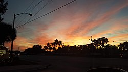 Sunset in Coconut Creek Florida.jpg