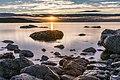 Sunset over Sandend Bay (43264842364).jpg